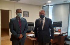 Οι καθυστερήσεις των ΕΛΤΑ στο επίκεντρο της συνάντησης του Αθανάσιου Λιούπη με τον γ.γ. Τηλεπικοινωνιών και Ταχυδρομείων