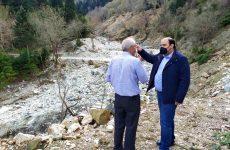 Χρ.Τριαντόπουλος: Σε Καρδίτσα και Οξυά για παρακολούθηση των έργων αποκατάστασης ζημιών του «Ιανού»