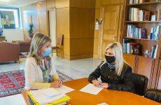Συνάντηση διευθύντριας Δ.Ε. Τρικάλων- υφυπουργού Παιδείας και Θρησκευμάτων