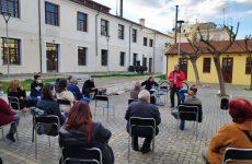 Σύσκεψη από εκπροσώπους σωματείων του Βόλου για τον αγωνιστικό εορτασμό της Εργατικής Πρωτομαγιάς