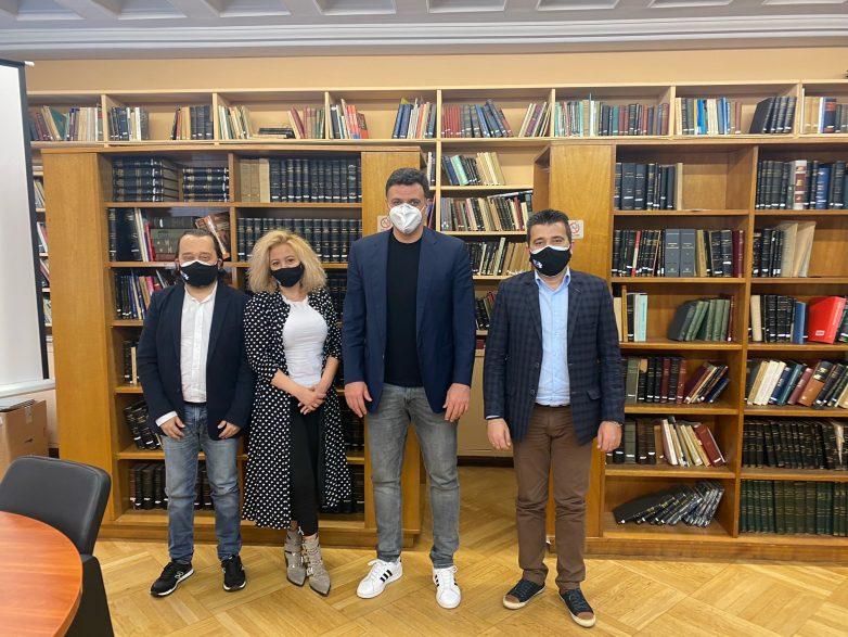 Συνάντηση της Ελληνικής Ομοσπονδίας Θαλασσαιμίας με τον υπουργό Υγείας Βασίλη Κικίλια