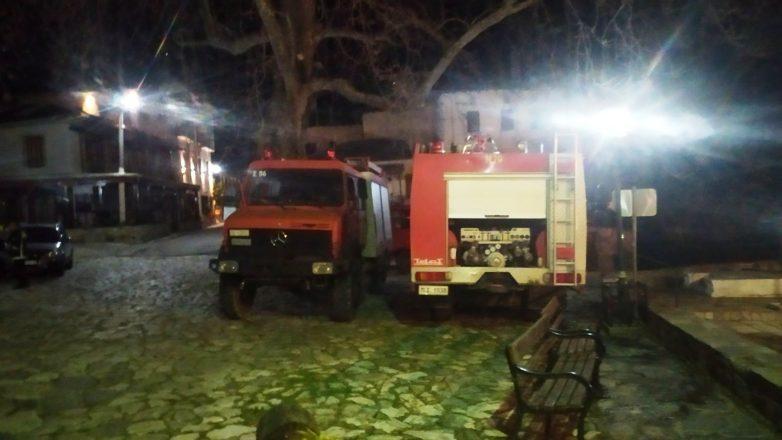 Άμεση αντιμετώπιση πυρκαγιών σε Κισσό και Τσαγκαράδα