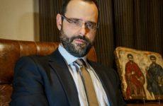 Ο βουλευτής Κωνσταντίνος Μαραβέγιας στο Γηροκομείο Καναλίων