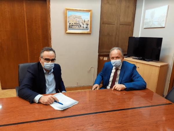 Επέκταση της ΜΕΘ και Οργανισμός του Νοσοκομείου στην ατζέντα συζήτησης Λιούπη-Κοντοζαμάνη
