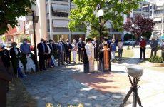 Επιμνημόσυνη δέηση για τα θύματα της γενοκτονίας του Ποντιακού Ελληνισμού