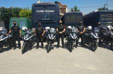 Με -16- νέες μοτοσικλέτες ενισχύονται οι Υπηρεσίες της ΓEΠΑΔ Θεσσαλίας