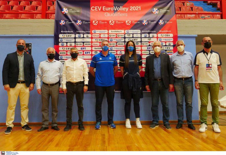 Στο κλειστό γυμναστήριο Ε.Α.Κ. Νεάπολης το 1ο τουρνουά του 3ου προκριματικού ομίλου του Ευρωπαϊκού πρωταθλήματος γυναικών