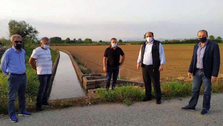 Χρ. Τριαντόπουλος: Στον κάμπο της Καρδίτσας για την αποκατάσταση του αρδευτικού δικτύου