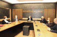 Στον περιφερειάρχη Θεσσαλίας ο γ. γ. Επαγγελματικής Εκπαίδευσης, Κατάρτισης και Διά Βίου Μάθησης
