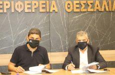 Αυγενάκης- Αγοραστός υπέγραψαν την Προγραμματική Σύμβαση για την αναβάθμιση του ΕΑΚ Λάρισας