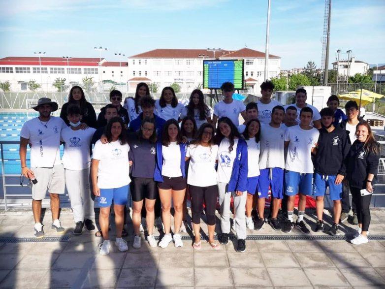 Εξαιρετική εμφάνιση της αγωνιστικής ομάδας κολύμβησης της Νίκης Βόλου
