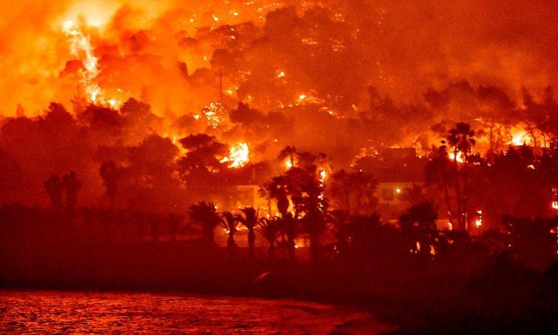 Χαρδαλιάς για φωτιά στην Κορινθία: Στάχτη πάνω από 40.000 στρέμματα