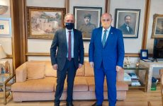 Συνάντηση Αθ. Λιούπη με τον υπουργό Δικαιοσύνης