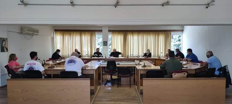 Συνεδρίαση ΣΟΠΠ δήμου Ρήγα Φεραίου ενόψει αντιπυρικής περιόδου