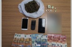 Σύλληψη αλλοδαπού με κοκαΐνη και κάνναβη