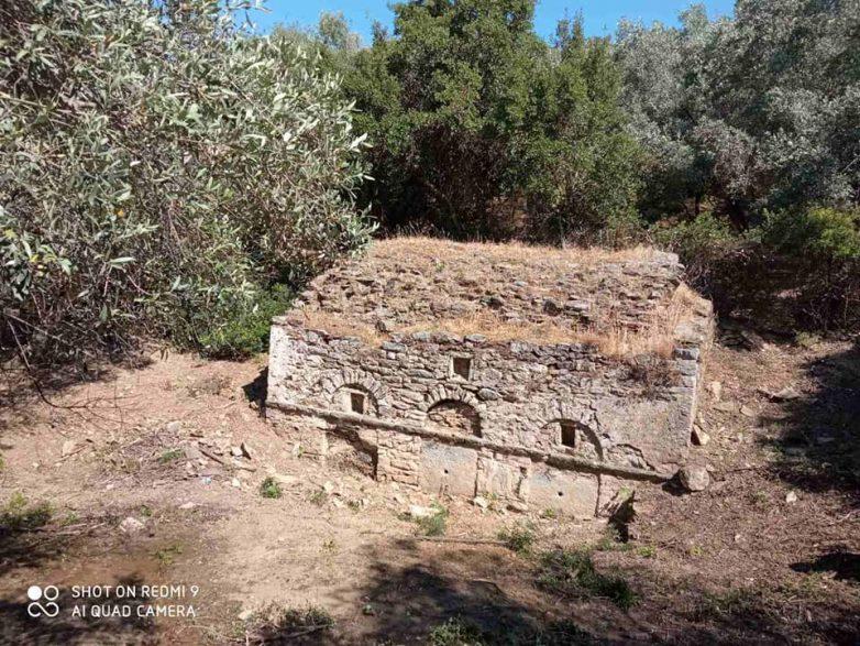 Καθαρισμός ιστορικών σημείων του Τρικερίου