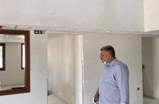 Εργασίες αποπεράτωσης του νέου Δημαρχείου στην Αργαλαστή