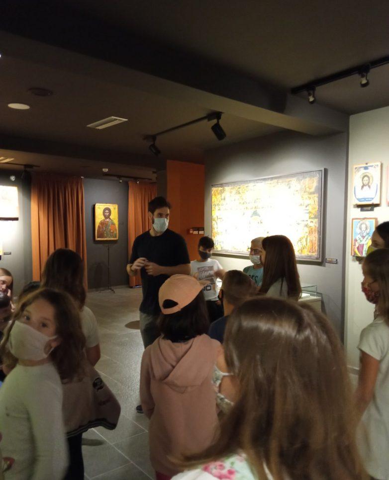 Στο Βυζαντινό Μουσείο Μακρινίτσας το 1ο Πειραματικό Δημοτικό Σχολείο Πορταριάς