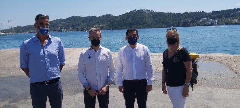 Πρώτο δρομολόγιο από Θεσσαλονίκη για Σκιάθο