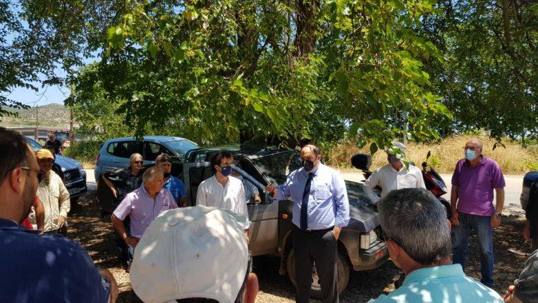 Δρομολογούνται με ταχείς ρυθμούς οι διαδικασίες για τους πληγέντες αγρότες της Ν. Αγχιάλου