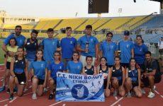 Ρεκόρ μεταλλίων…και μια ατυχία για τη Νίκη Βόλου στο Πανελλήνιο Κ16