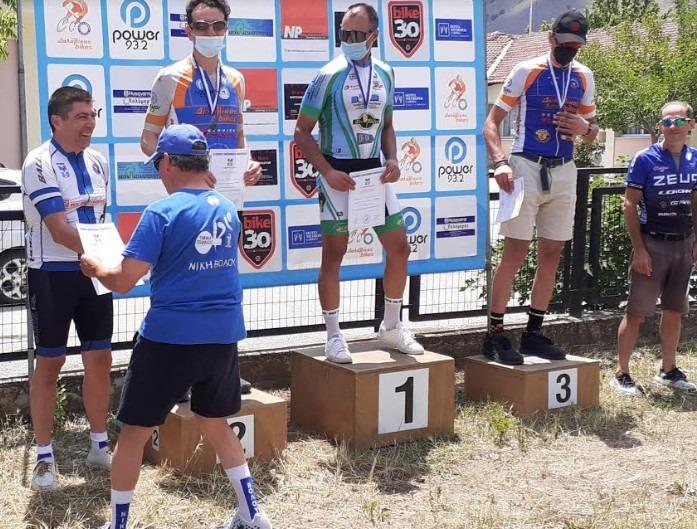 Στο πρωτάθλημα ποδηλασίας Κεντρικής Ελλάδος η Νίκη Βόλου