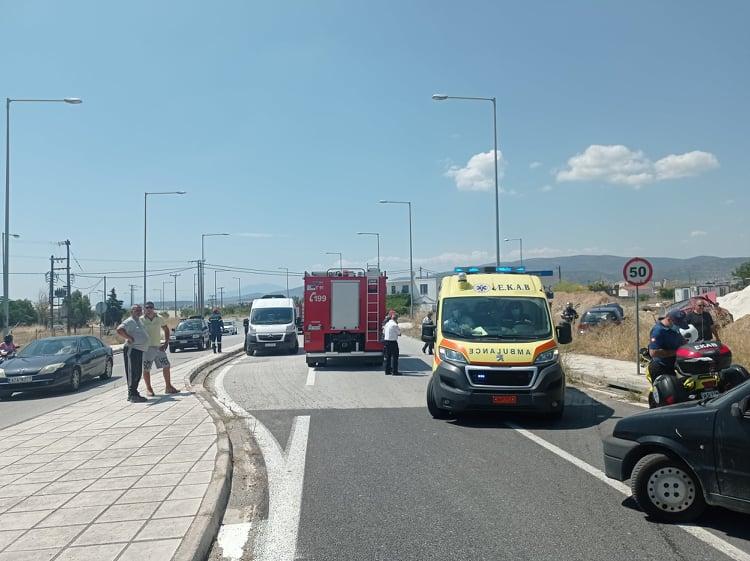 Στο Νοσοκομείο 4 άτομα μετά από τροχαίο στον περιφερειακό