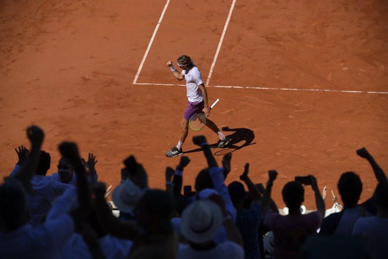 Τελικός Roland Garros: 1-0 σετ υπέρ του Στέφανου Τσιτσιπά