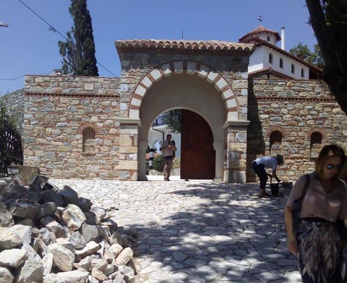 Βελτιώνει την προσβασιμότητα στην μονή Παναγίας Οδηγήτριας στην Πορταριά Πηλίου η Περιφέρεια Θεσσαλίας