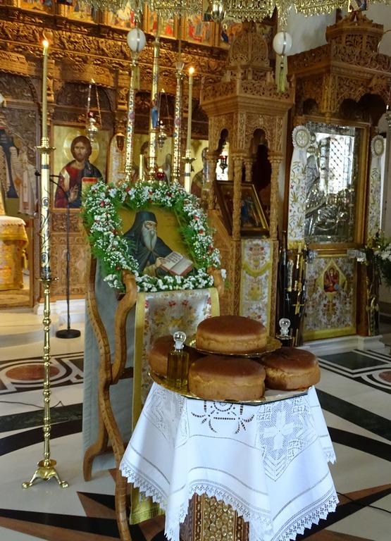 Η μνήμη του Οσίου Νικοδήμου του Αγιορείτου στην μονή Παμμεγίστων Ταξιαρχών Πηλίου