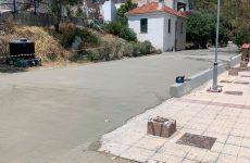 Παρέμβαση στον παραλιακό δρόμο στις Κόττες Τρικερίου