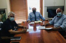 Οριστικοποιήθηκε η συνεργασία Δήμου Ρ. Φεραίου και ΕΤΒΑ