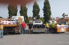 Δέματα αλληλεγγύης από την Περιφέρεια Θεσσαλίας για τις ανάγκες σεισμόπληκτων οικογενειών