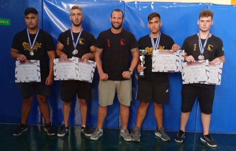 Eπιτυχίες αθλητών του Kempo στο Πανελλήνιο Πρωτάθλημα Χειροπάλης