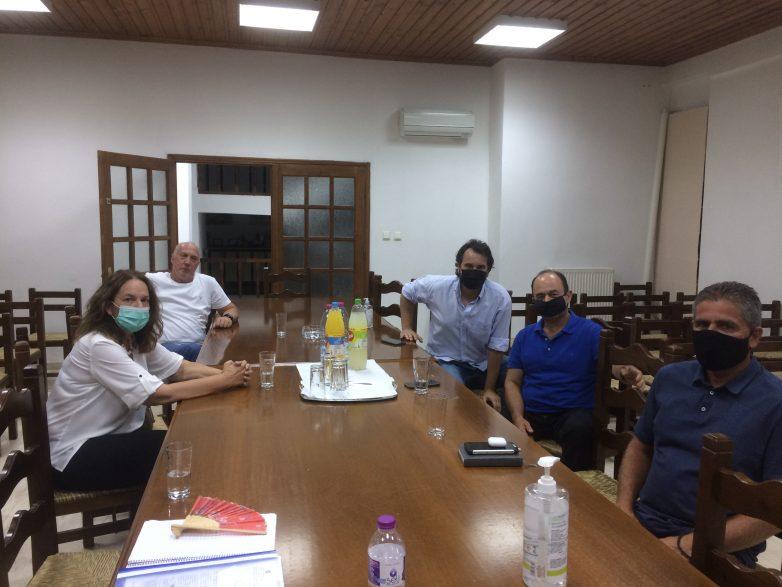 Επίσκεψη Κατερίνας Παπανάτσιου στην Τσαγκαράδα