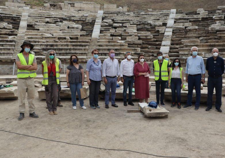 Λίνα Μενδώνη: «Είναι η πρώτη φορά που το Αρχαίο Θέατρο έχει ορατότητα τέλους»