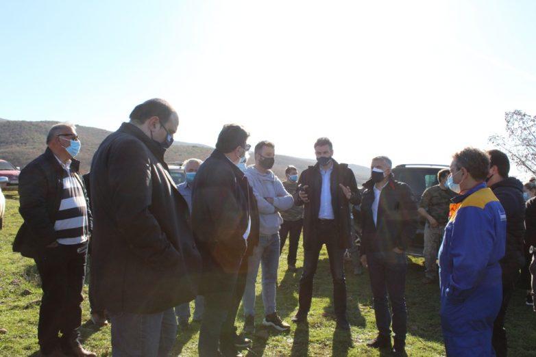 Ωρίμανση του διαγωνισμού για το φράγμα Ενιπέα στο Παλιοδερλί της Σκοπιάς Φαρσάλων