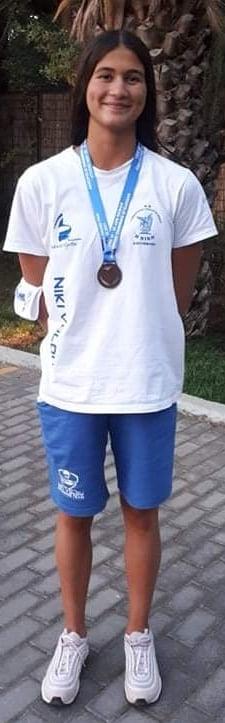 Ένα χρυσό κι ένα ασημένιο μετάλλιο η Ευτυχία Ιωαννίδη στο πανελλήνιο πρωτάθλημα