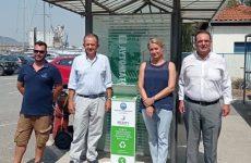 Τοποθετήθηκαν κάδοι ανακύκλωσης αποτσίγαρων στον Βόλο