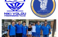 Ικανοποίηση από την πρώτη συμμετοχή του τμήματος τεχνικής κολύμβησης της Νίκης Βόλου στο Πανελλήνιο πρωτάθλημα