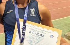 Στην Εθνική ομάδα στίβου για τη διεθνή συνάντηση Ελλάδας – Κύπρου η Ανδρομάχη Βελέντζα