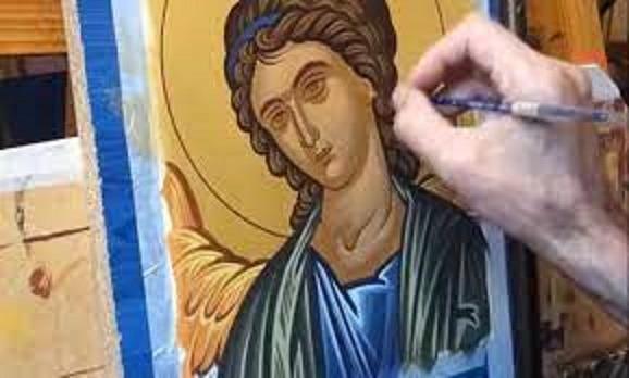 Μαθήματα Τεχνοτροπίας Βυζαντινών Εικόνων από το Καλλιτεχνικό Εργαστήρι Δήμου Ρήγα Φεραίου