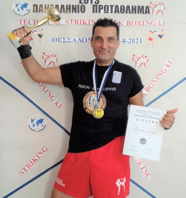 Την πρώτη θέση στο Πανελλήνιο κατέκτησε ο Ανδρέας Κεχαγιάς