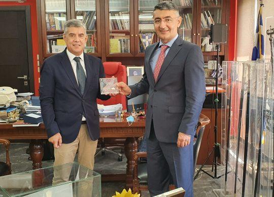 Στον περιφερειάρχη Θεσσαλίας ο πρέσβης του Αζερμπαϊτζάν