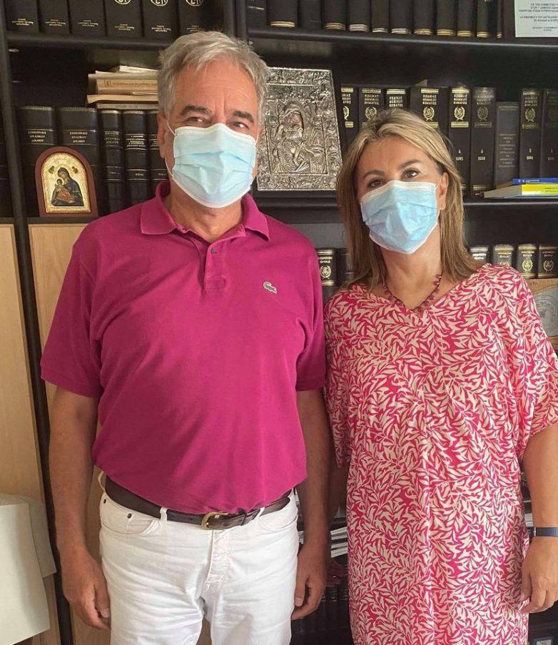 Στελέχωση του Κ.Υ. Αργαλαστής με δυο μέλη πληρώματος ασθνεοφόρου