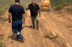 Αποκατάσταση αγροτικού δρόμου από τον Λαύκο προς τη θέση «Καλάμι» Αργαλαστής