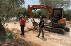 Εργασίες αποκατάστασης και διαμόρφωσης  του περιβάλλοντος χώρου στο ΚΕΠ Καλών Νερών