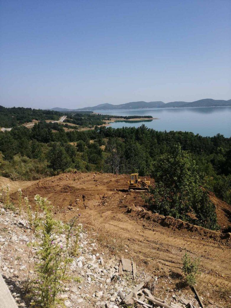 Αποκαθίσταται το οδικό κύκλωμα της Λίμνης Πλαστήρα στο ύψος του Νεοχωρίου