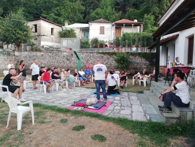 Παρουσίαση Α' Βοηθειών από την ΕΟΔ στο Βένετο και στη Συκή