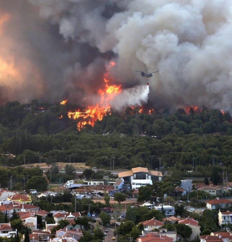 Φωτιές: Μάχη σε πολλαπλά μέτωπα
